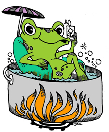 The story of the boiling frog