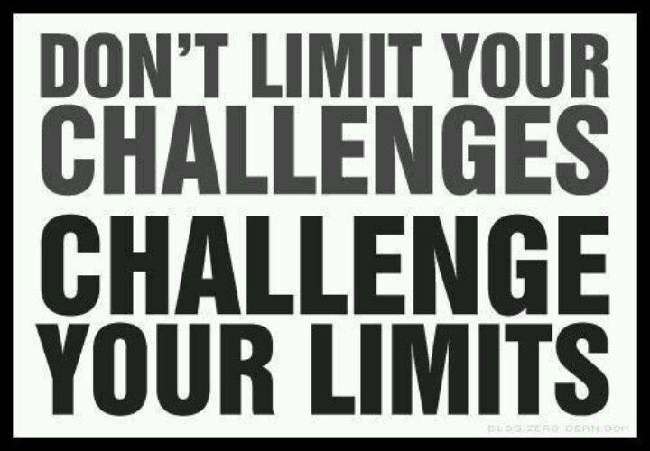 Don't Limit Your Challenges, Challenge Your Limits and Reach the Sky!