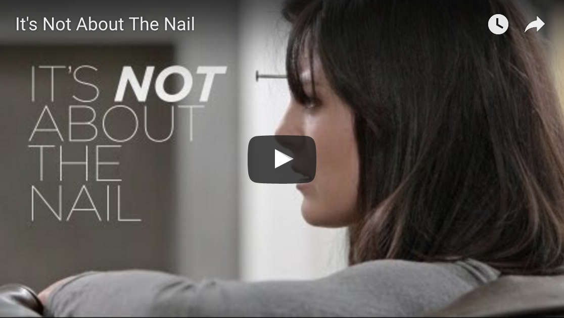 It's not about the nail